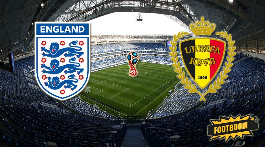 Англия - Бельгия: стартовые составы