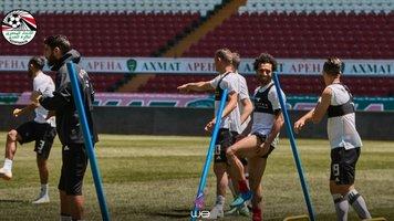 Мохамед Салах вернулся к тренировкам в общей группе сборной Египта