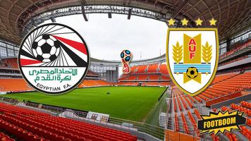 ЧМ-2018. Египет - Уругвай 0:1 (Видео)