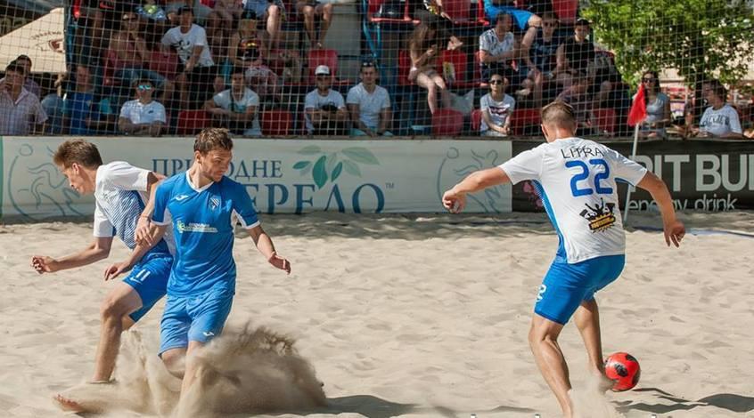 """Пляжный футбол. Вторая неудача """"Динамики"""""""