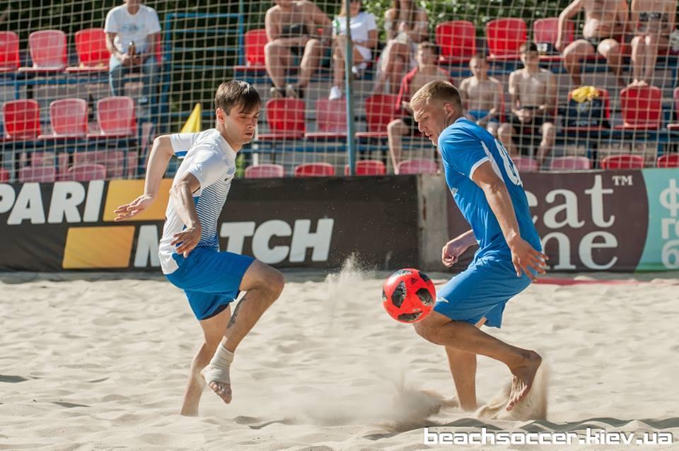 """Пляжный футбол. Вторая неудача """"Динамики"""" - изображение 1"""
