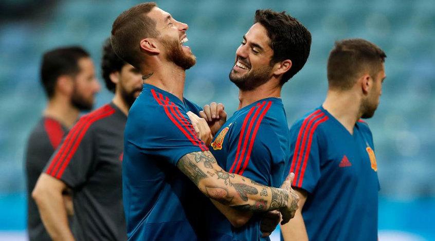 """Серхио Рамос: """"От Роналду постоянно исходит опасность"""""""