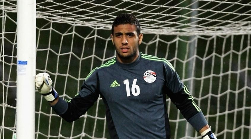 Голкипер сборной Египта Мохамед Эль-Шенави - лучший игрок матча с Уругваем