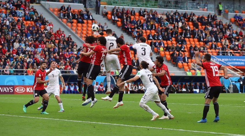 Египет - Уругвай 0:1. Испортили Салаху днюху
