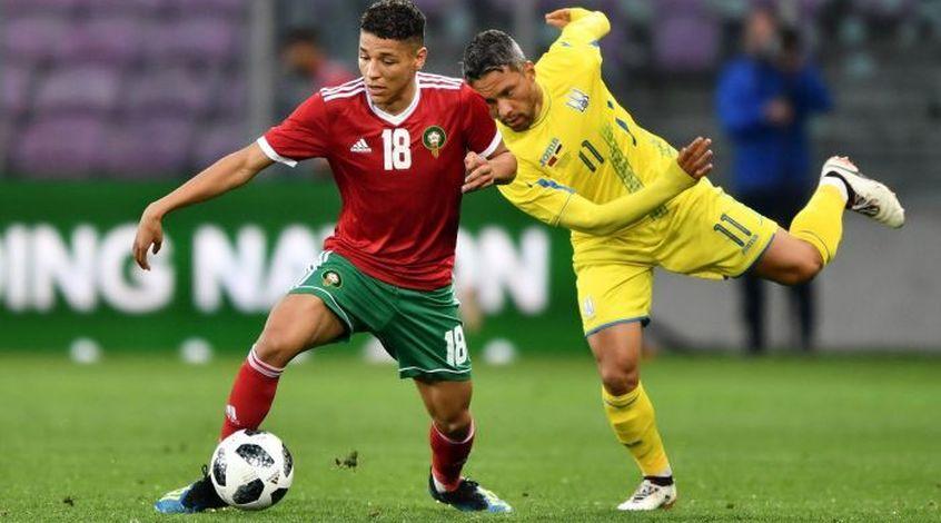 ФИФА: хавбек сборной Марокко Амин Арит - лучший игрок матча с Ираном