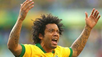 Марсело продемонстрировал удивительный трюк на тренировке сборной Бразилии (Видео)