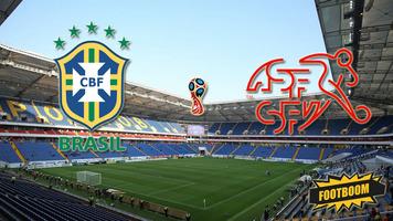 ЧМ-2018. Бразилия - Швейцария 1:1 (Видео)