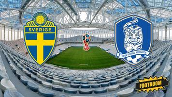 ЧМ-2018. Швеция - Корея 1:0 (Видео)