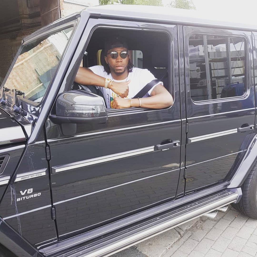 Дьемерси Мбокани показал свой автопарк (Фото) - изображение 2