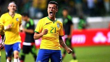 Бразилия - Коста-Рика: коэффициент 2,70 на гол Коутиньо
