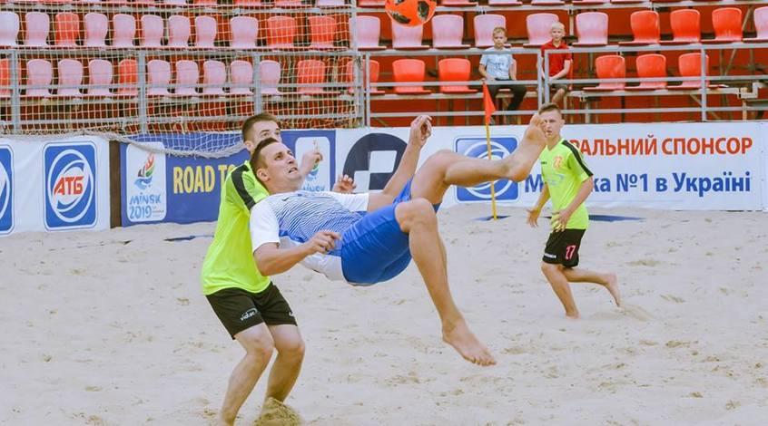 Пляжный футбол. Итоги 5-го тура Первой лиги