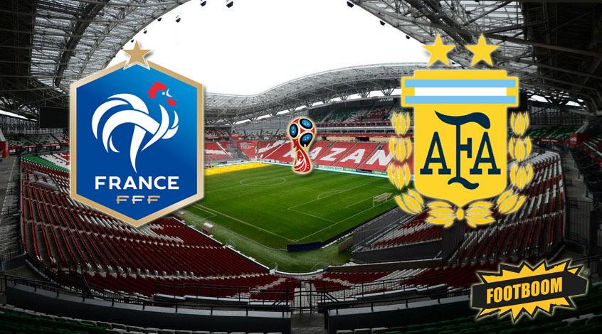Франция - Аргентина: стартовые составы