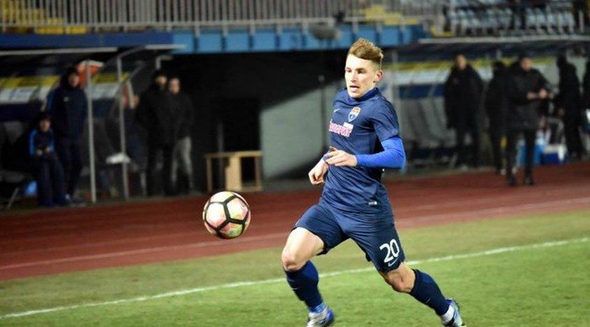 Игорь Кирюханцев открыл счет голам в профессиональной карьере