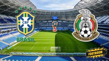 Бразилия - Мексика 2:0. Стабильность и класс