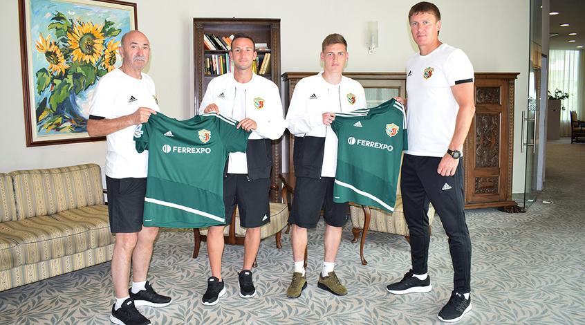 """Офіційно: Мар'ян Мисик та Артем Габелок - гравці """"Ворскли"""""""