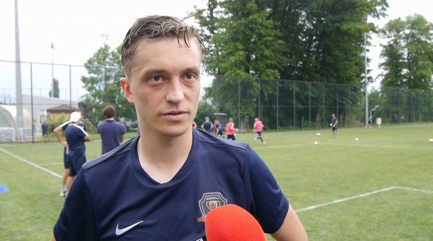 """Офіційно: Владислав Шаповал - гравець """"Дніпра-1"""""""