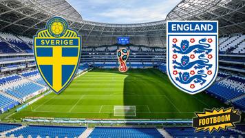 ЧМ-2018. Швеция - Англия.  Прямая трансляция