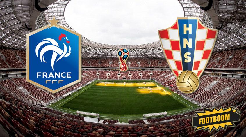Франция - Хорватия. Анонс и прогноз матча