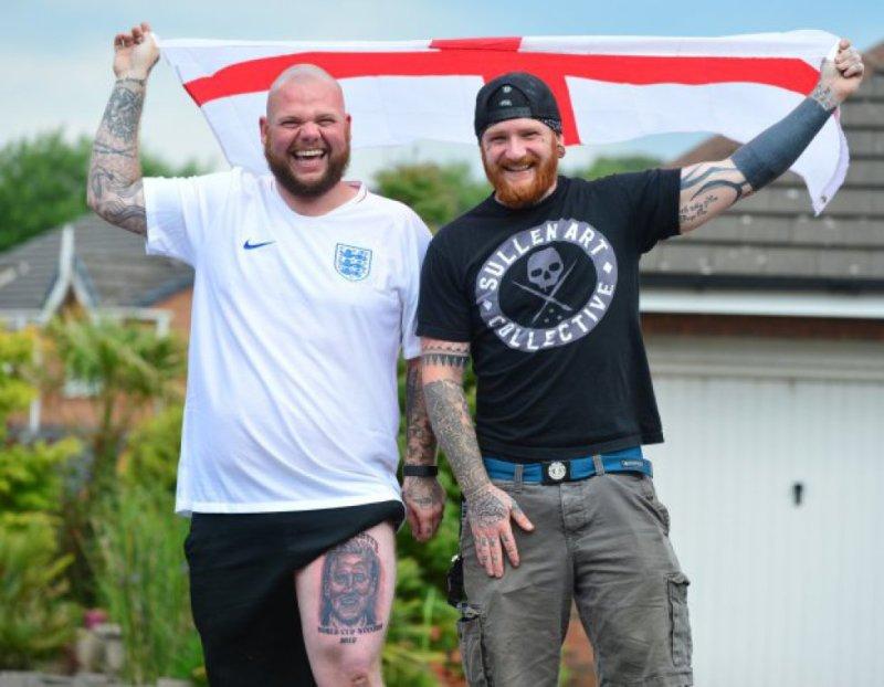 Фанаты сборной Англии очень верили в победу на ЧМ-2018 (Фото) - изображение 1