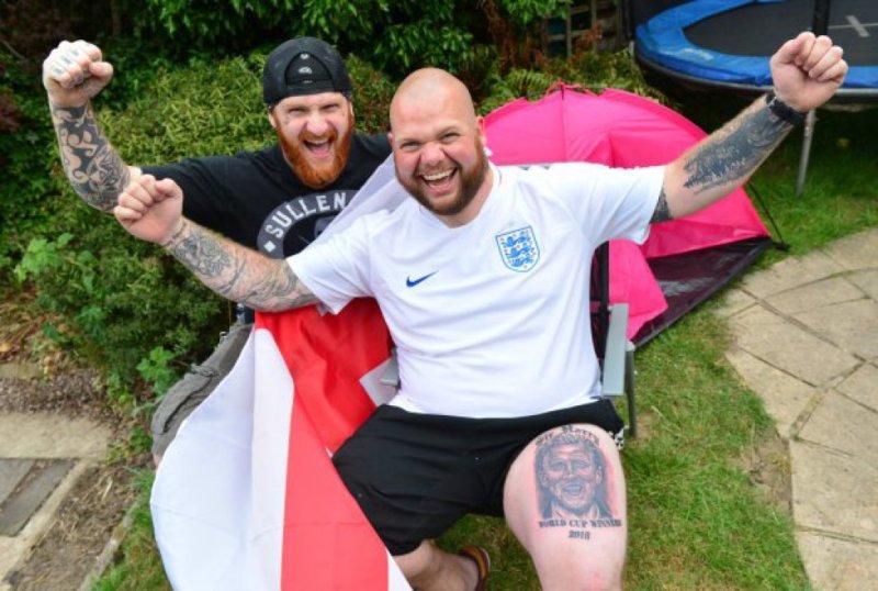 Фанаты сборной Англии очень верили в победу на ЧМ-2018 (Фото) - изображение 2