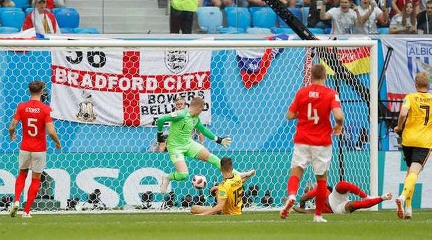 """Бельгия - Англия 2:0. """"Золотое поколение"""" стало бронзовым"""