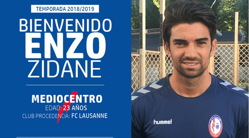 Старший сын Зинедина Зидана продолжит карьеру во втором испанском дивизионе