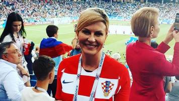 Президент Хорватии опубликовала фото сборной из раздевалки (Фото)
