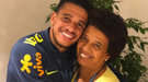Тайсон трогательным фото поздравил маму с Днем рождения