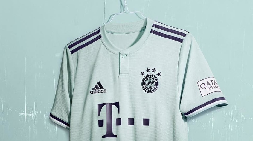 "Adidas сшил для ""Баварии"" новую выездную форму (Фото)"