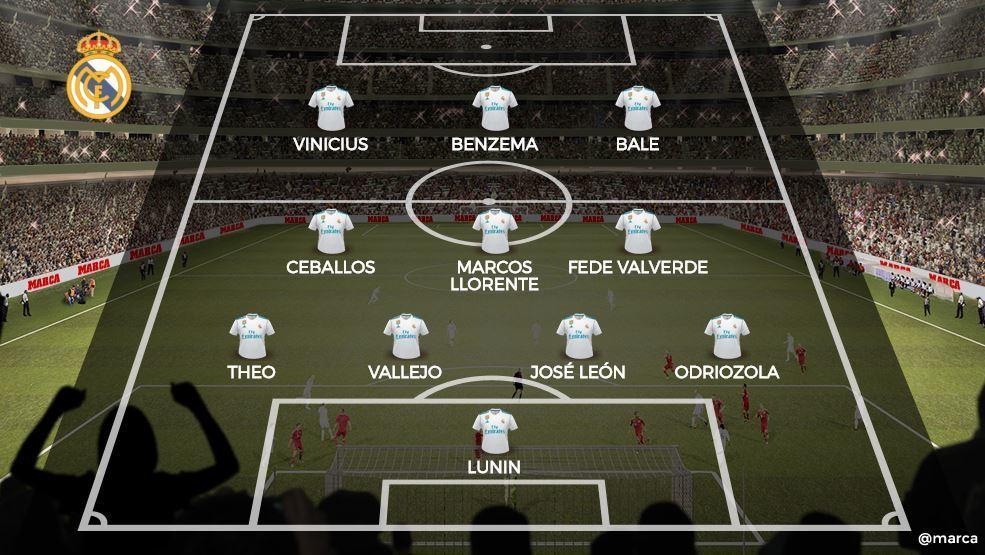 Marca включила Андрея Лунина в экстренный состав на эль-классико (Фото) - изображение 1