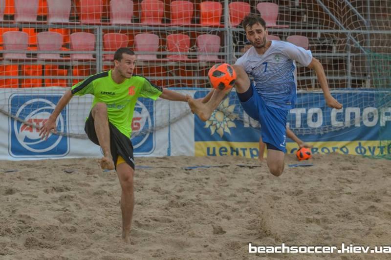 Пляжный футбол. Обзор первой полуфинальной игры между DYNAMIKA и Viatec (Первая лига Silver) - изображение 2