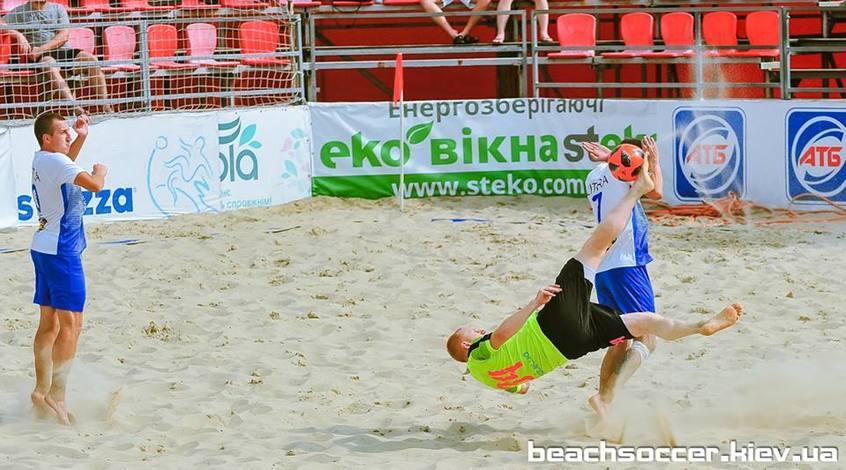 Чемпионат Киева по пляжному футболу. Прямая трансляция игрового уик-энда №12