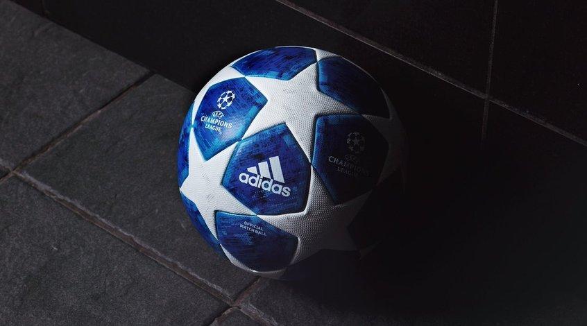 УЕФА и Аdidas представили новый официальный мяч Лиги чемпионов-2018/2019 (Фото)