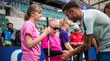 Слепые дети из Эстонии будут петь на церемонии открытия Суперкубка УЕФА (Фото, Видео)