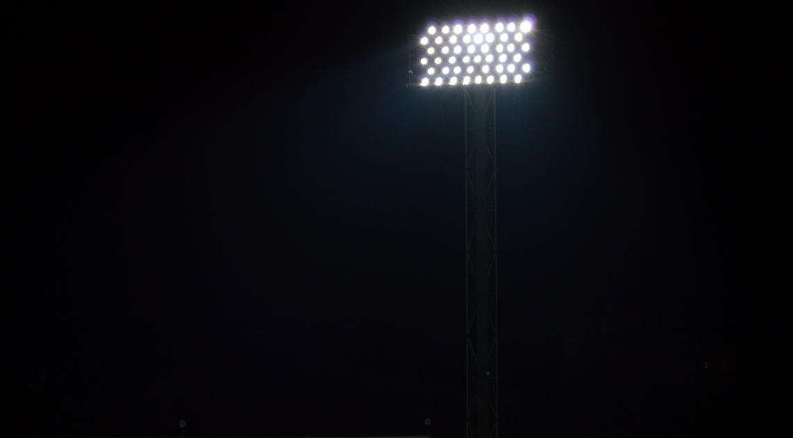 """На стадіоні """"Ворскла"""" успішно протестували нове освітлення (Фото) - изображение 2"""