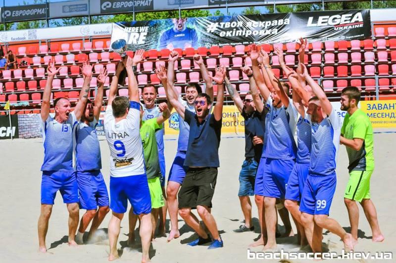 Пляжный футбол. DYNAMIKA — победитель Первой лиги Silver! - изображение 3