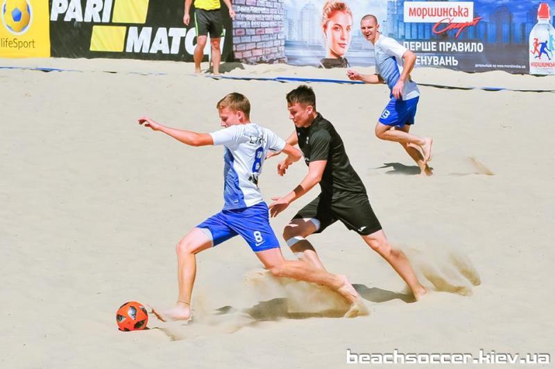 Пляжный футбол. DYNAMIKA — победитель Первой лиги Silver! - изображение 1