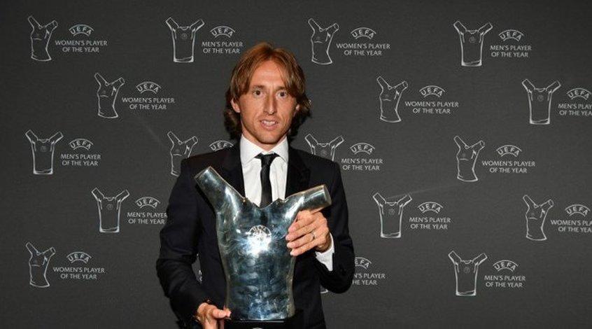 Лука Модрич посвятил отцу награду лучшего игрока сезона 2017/2018