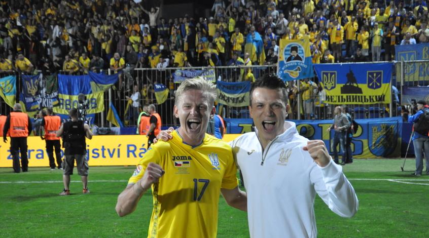 Чехия - Украина 1:2. Глоток воздуха
