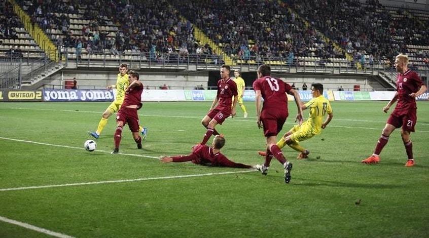 Украина (U-21) - Латвия (U-21) 3:2. Важный отскок и шедевр Шведа