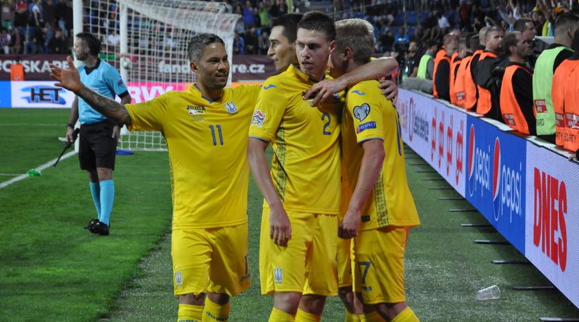 Украина париматч футбол