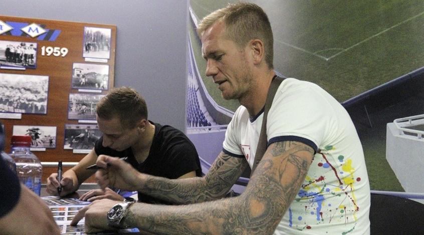 """Футболисты """"Черноморца"""" встретились с болельщиками (Фото)"""