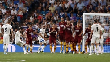 """""""Реал"""" - """"Рома"""" 3:0. Эффекта неожиданности оказалось недостаточно"""
