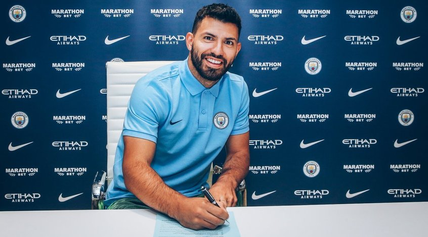 "Официально: ""Манчестер Сити"" продлил контракт с Серхио Агуэро"