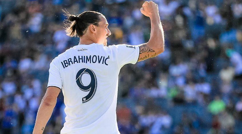 Златан Ибрагимович показал эффектный трюк с мячом (Видео)