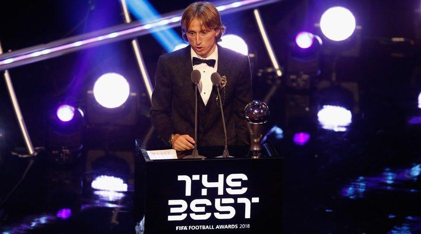 The Best FIFA Football Awards: Лука Модрич — лучший футболист 2018 года по версии ФИФА