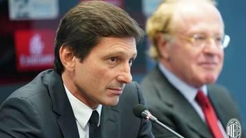 """""""Милан"""" уже нашел замену спортивному директору клуба Леонардо"""
