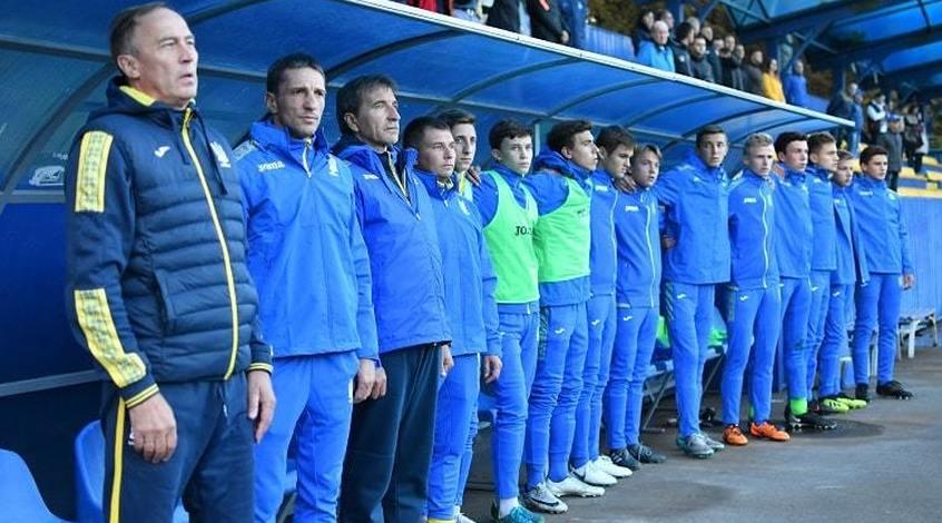 Товариський матч.  Україна (U-16)- Бельгія (U-16)0:2
