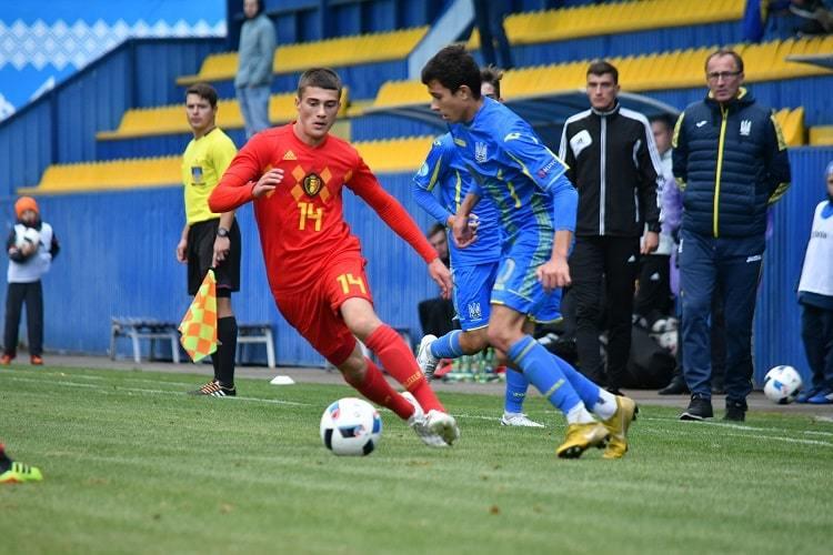 Товариський матч.  Україна (U-16)- Бельгія (U-16)0:2 - изображение 1