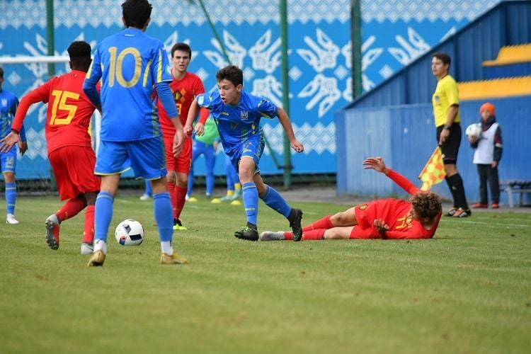 Товариський матч.  Україна (U-16)- Бельгія (U-16)0:2 - изображение 2
